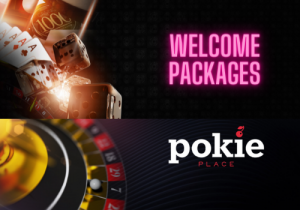 Welcome package at Pokie Place Casino
